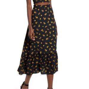 TEN SIXTY SHERMAN Floral skirt